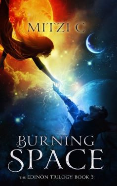 Burning Space: Book 3 in The Edinön Trilogy