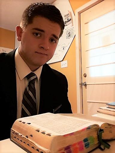 Max reading scriptures